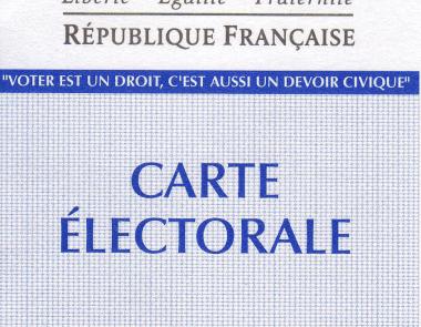 Image d'une carte électorale