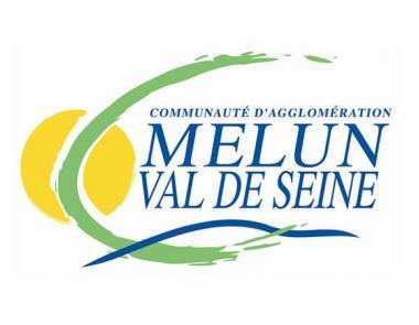 Logo de la communauté d'agglomérations Melun Val-de-Seine